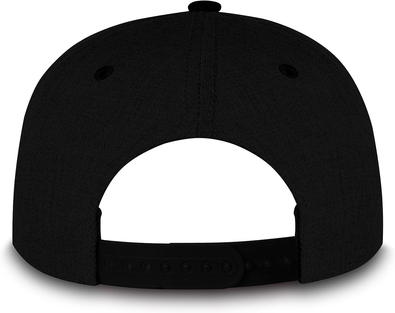 RUBDE Unisex Snapback Cap mit wechselbaren Anker-Patch Herren Damen Kinder