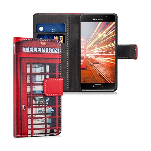 4 opinioni per Cover Samsung Galaxy A3 2016 Custodia Portafoglio Cabine UK Flip Case Con