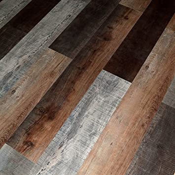 Dekorman Brook Oak Thick Click Locking Laminate Flooring Planks 12