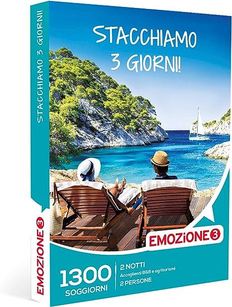Emozione3 - Stacchiamo 3 giorni! Pack regalo de viaje con más de ...