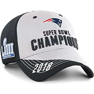 OTS NFL New England Patriots Super Bowl LIII Champions Hubris All-Star  Adjustable Hat 190d0fbd5