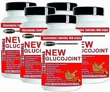 Glucosamina Coindroitina MSM Acido Hialuronico Cúrcuma 5 BOX ...