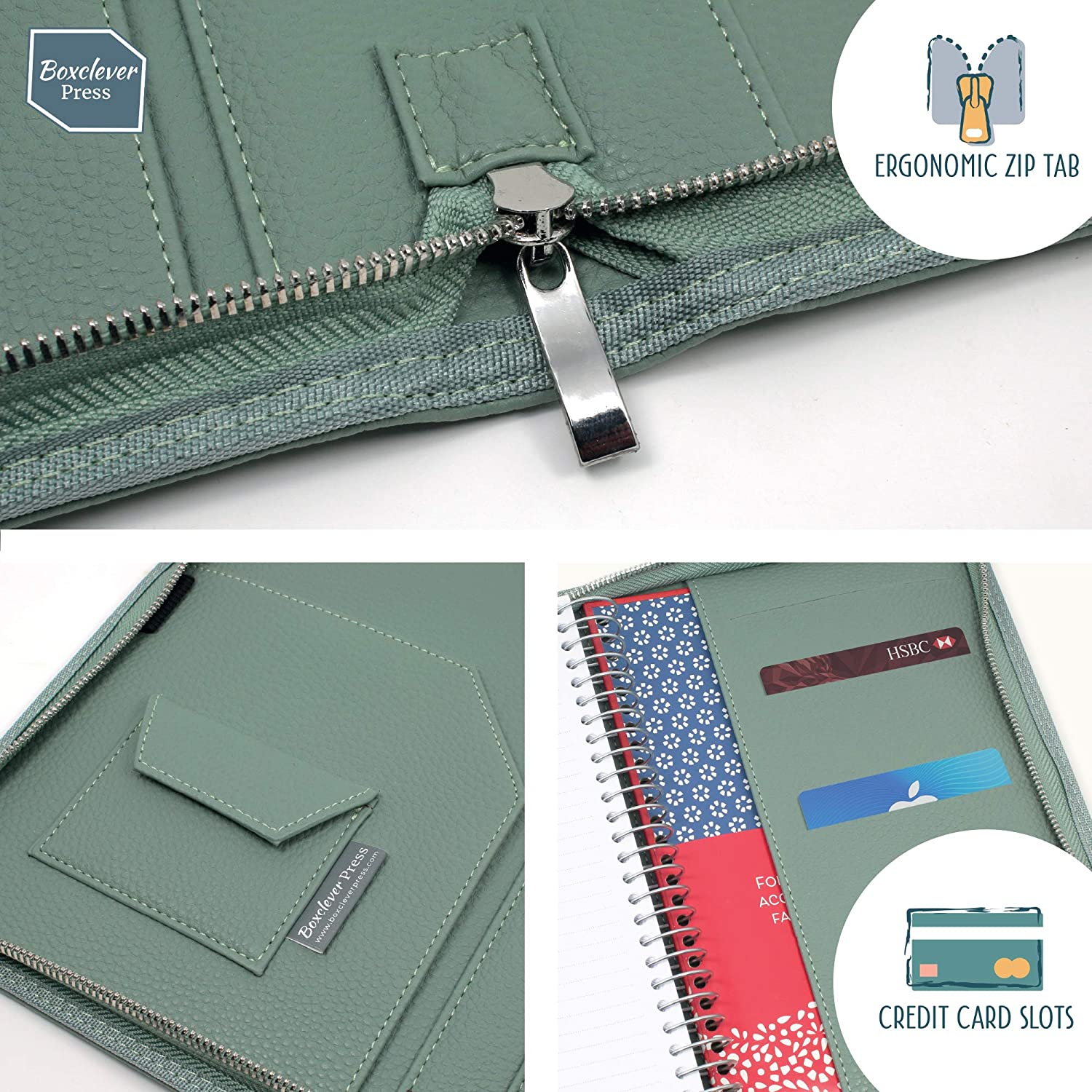 Boxclever Press Family Life Book. Agenda 2019-2020 con Funda ...