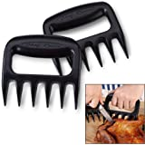 Latest Meat Handling Claws - Lifetime Replacement Warranty - Best Rated Shredder For Pulled Pork, Lifting Hot Food, Carving - Strongest BPA-Free Plastic Meat Claws Heat Resistant to 450°F