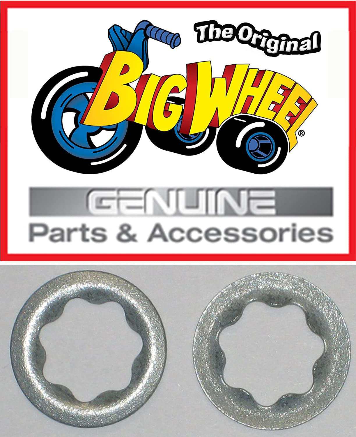 Replacement Parts The Original Classic Big Wheel Pair of Pedal WASHERS