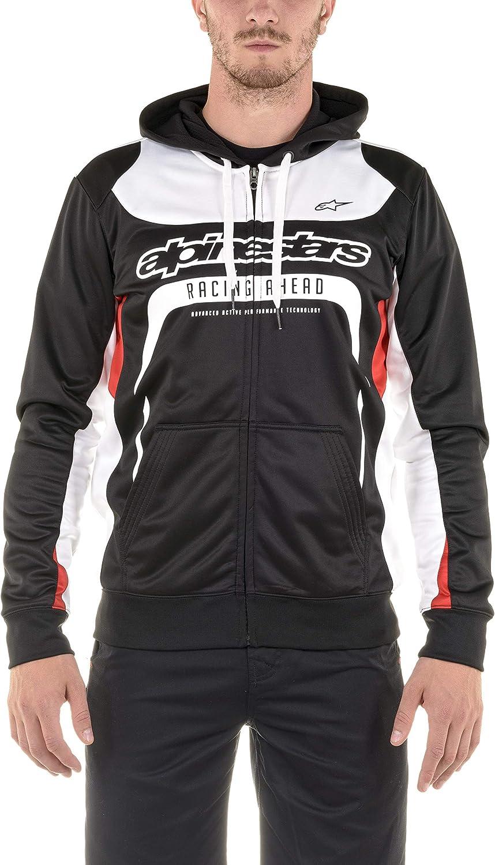 Alpinestar Session Fleece - Cremallera suéter Moderno Corte Motor Deporte inspiración Hombre