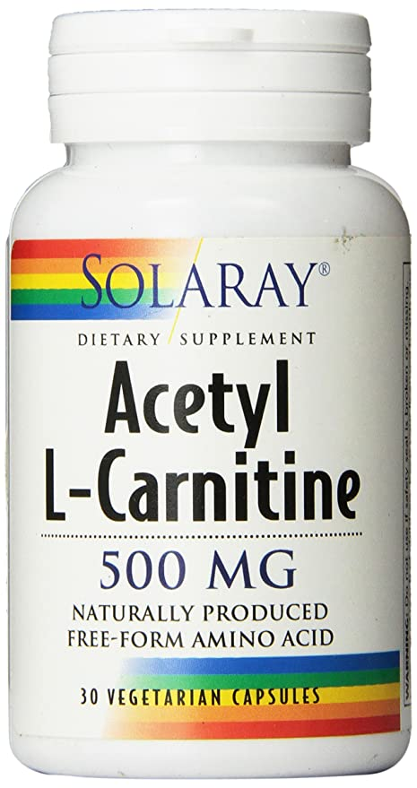 ACETIL L-CARNITINA 500MG 30CAP