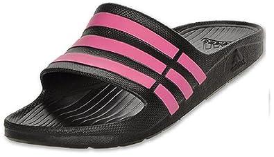 cozy fresh 17154 52037 adidas Womens Duramo Sleek Slide Sandal d2897b4adf