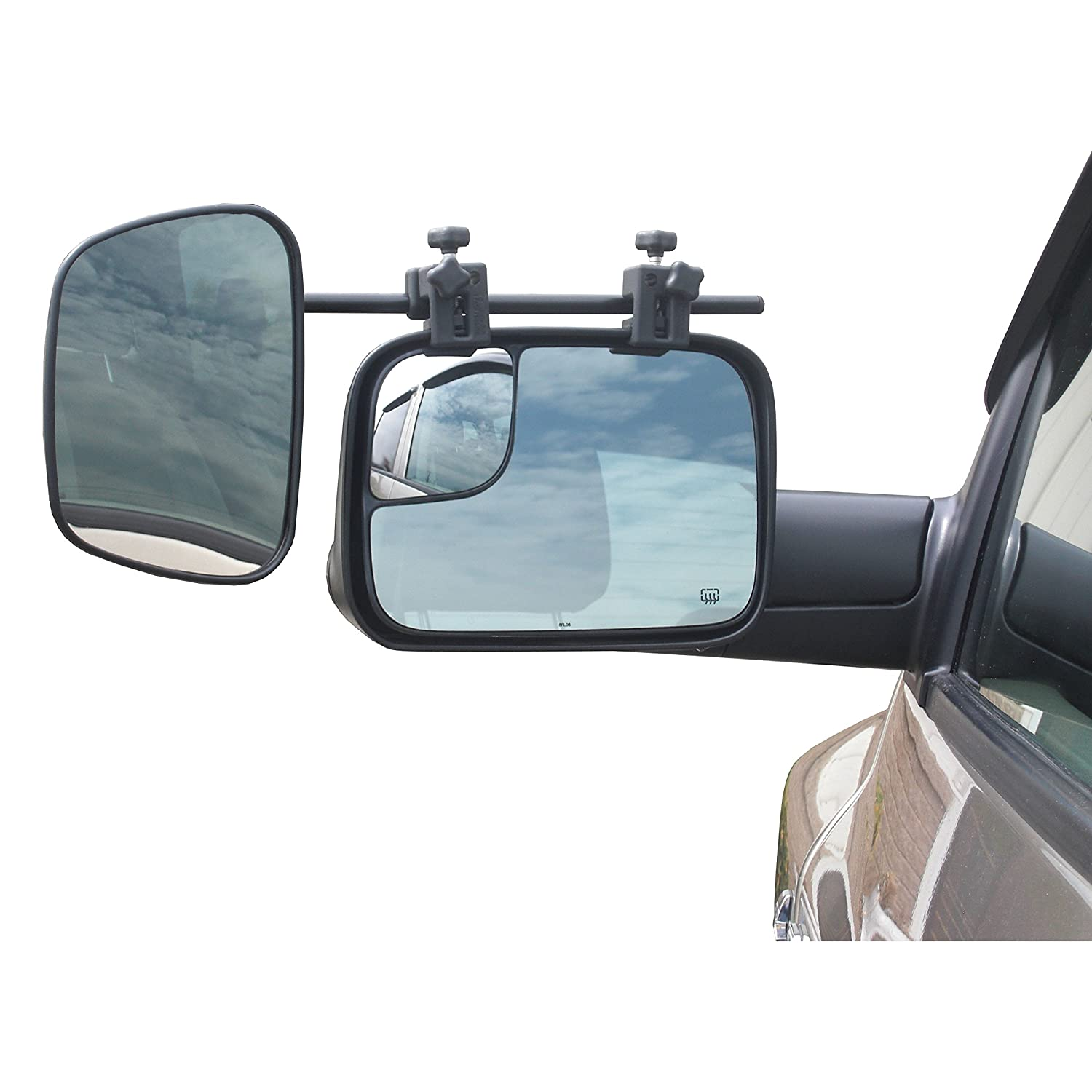For 2007-2013 Chevy Suburban 1500//2500 Towing Rear Mirrors Dual Mirrors