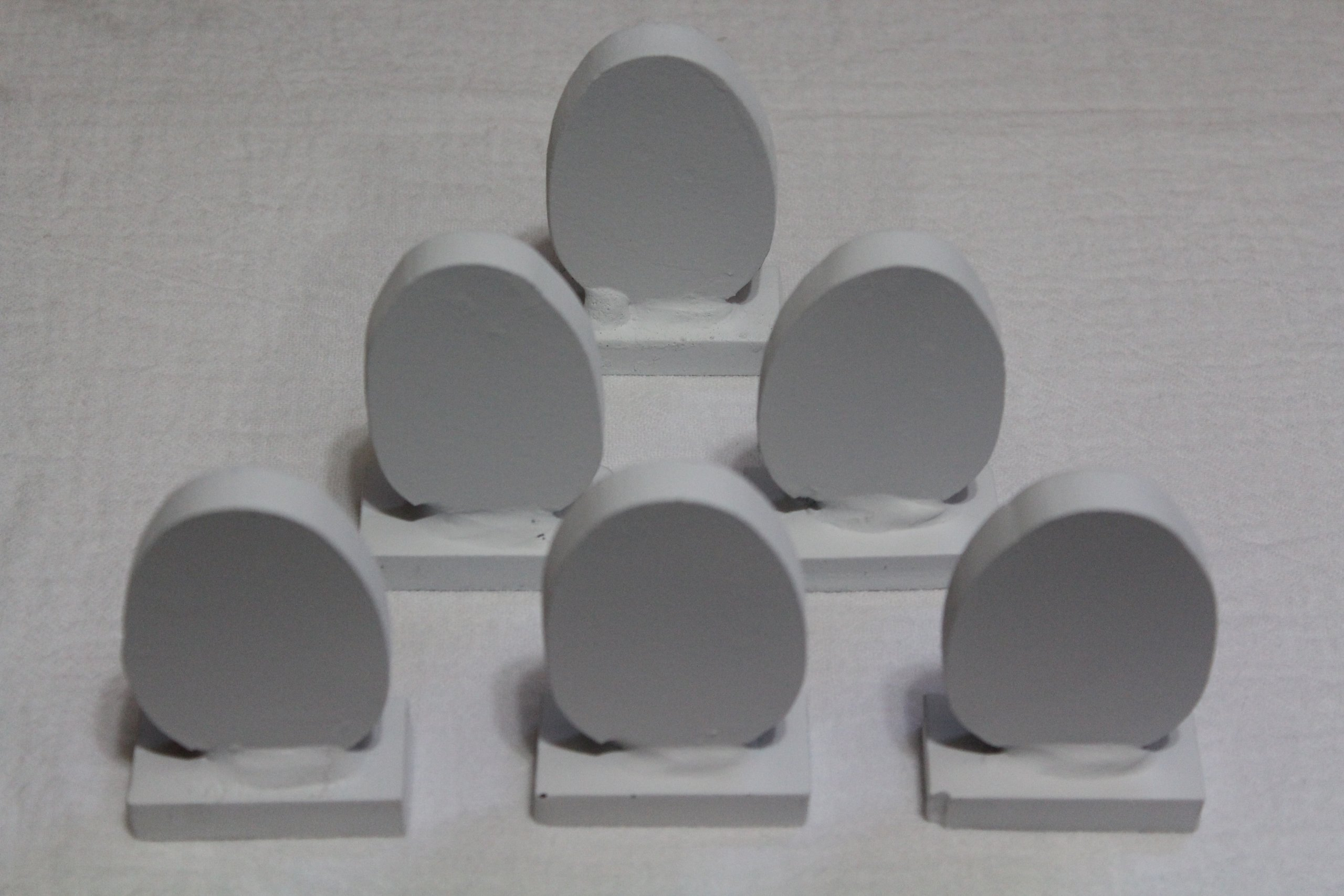 Steel Eggs KNOCKOVER Targets by Quality Targets