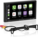 BOSS Audio Systems Elite BE7ACP-C Car Multimedia Player with Apple CarPlay Android Auto - 7 Inch Capacitive Touchscreen, Doub