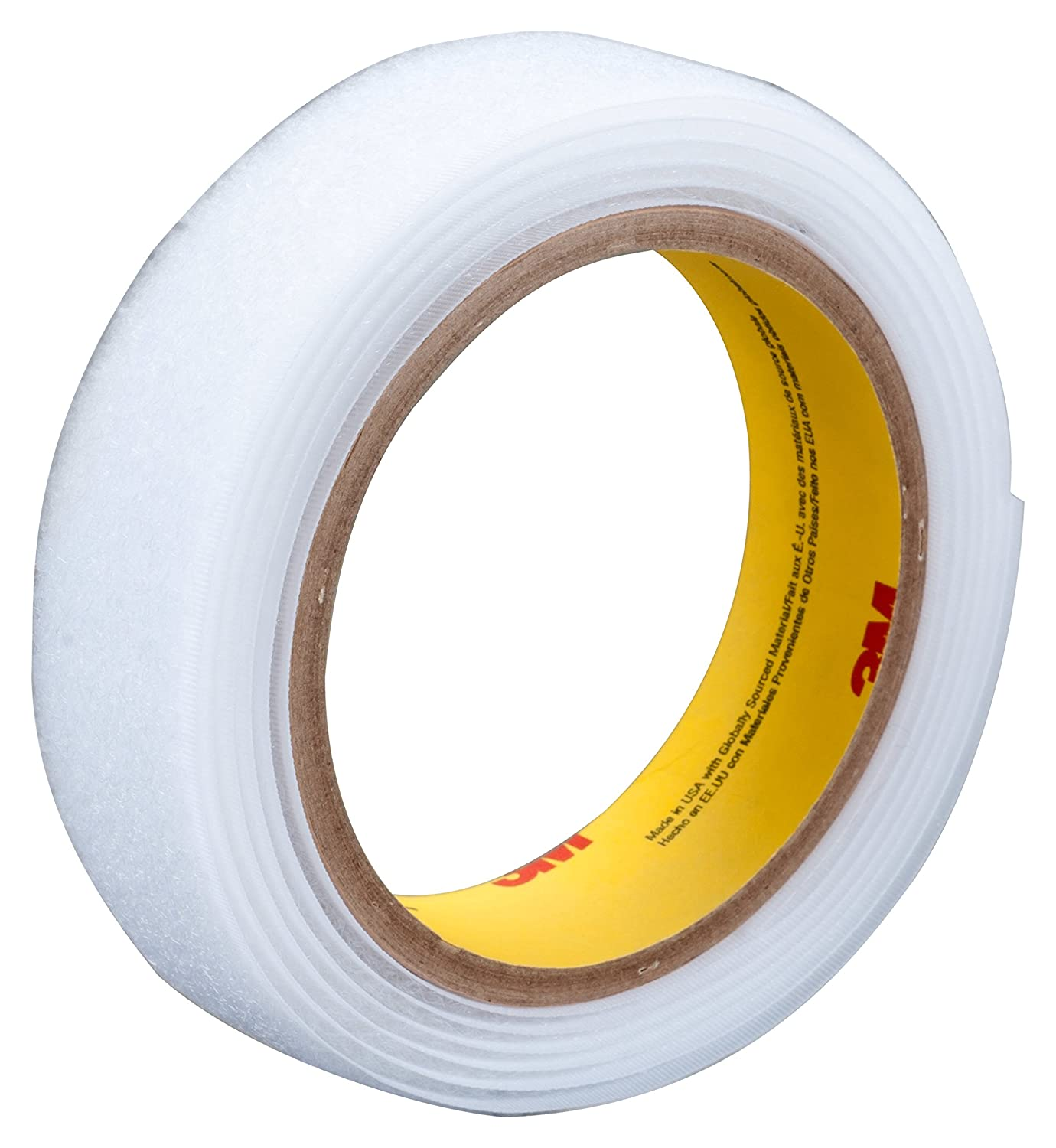 0.15 Engaged Thickness 1 x 50 yd 0.15 Engaged Thickness 3M 58449 Fastener SJ3532NFSR Hook Functional Splice White 1 x 50 yd