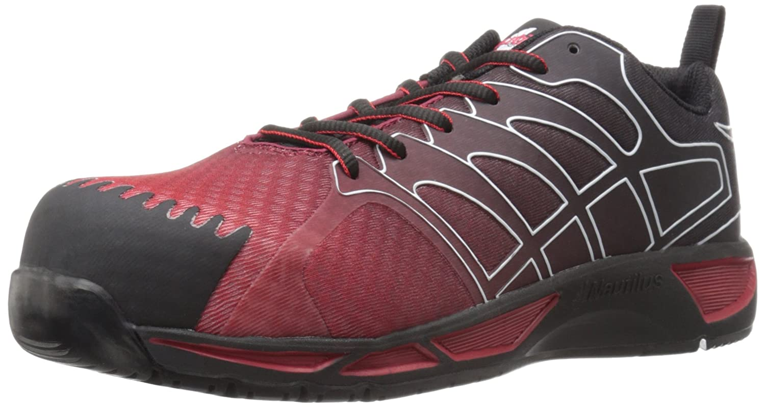 Amazon.com: Nautilus 2422 Men's Advanced ESD Nano Carbon Fiber Safety Toe  Athletic Work Shoe: Shoes