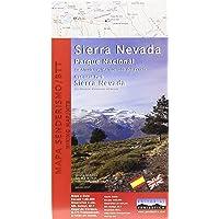Sierra Nevada National Park Map. Alpujarra, marquesado del