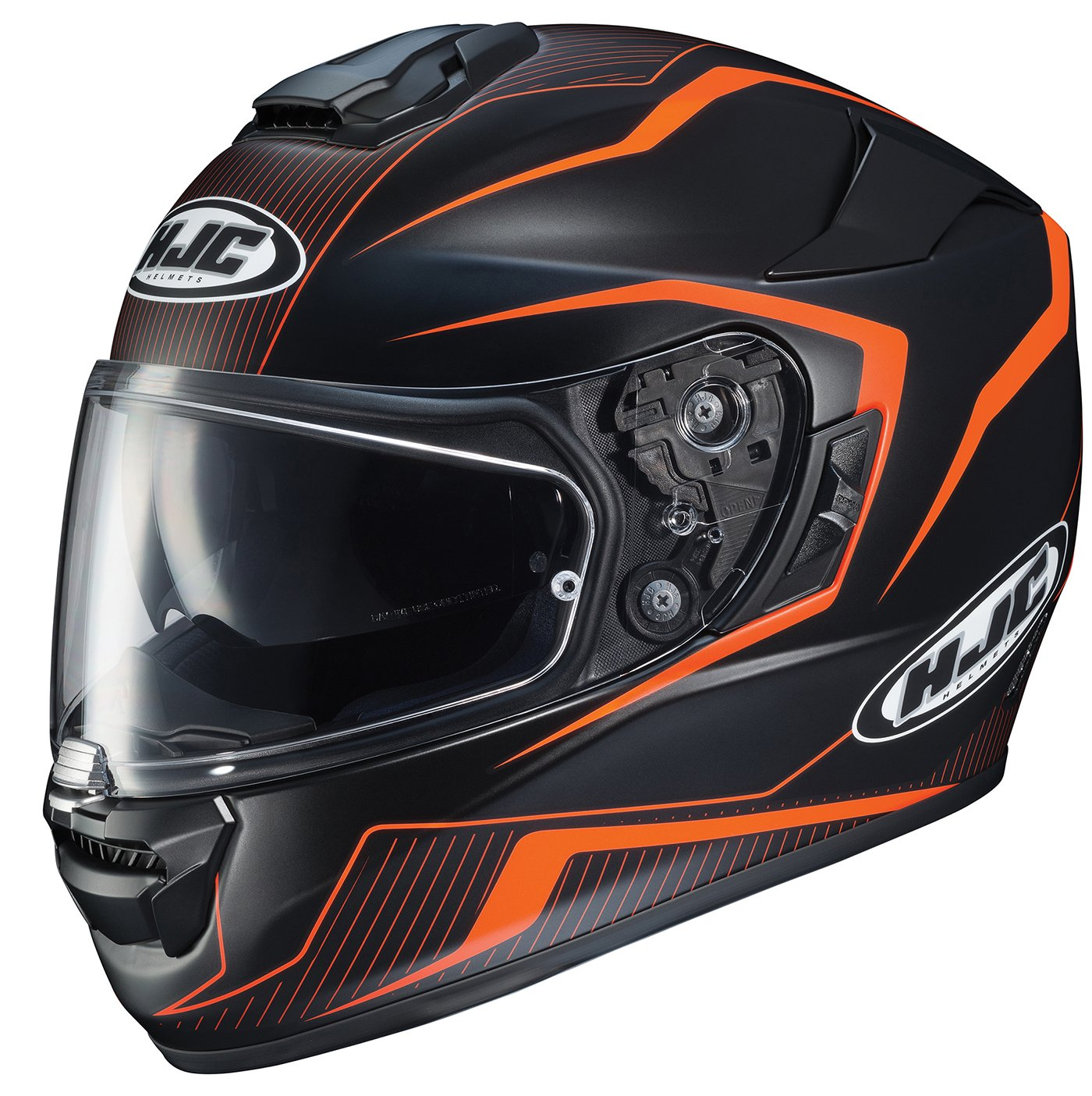 HJC Helmets 1610-774 Black//Orange Large Rpha-ST Dabin Helmet