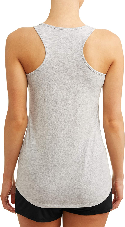 Secret Treasures Women/'s Sleep Shirt Tank Top Size XL How I Roll Camper 16-18