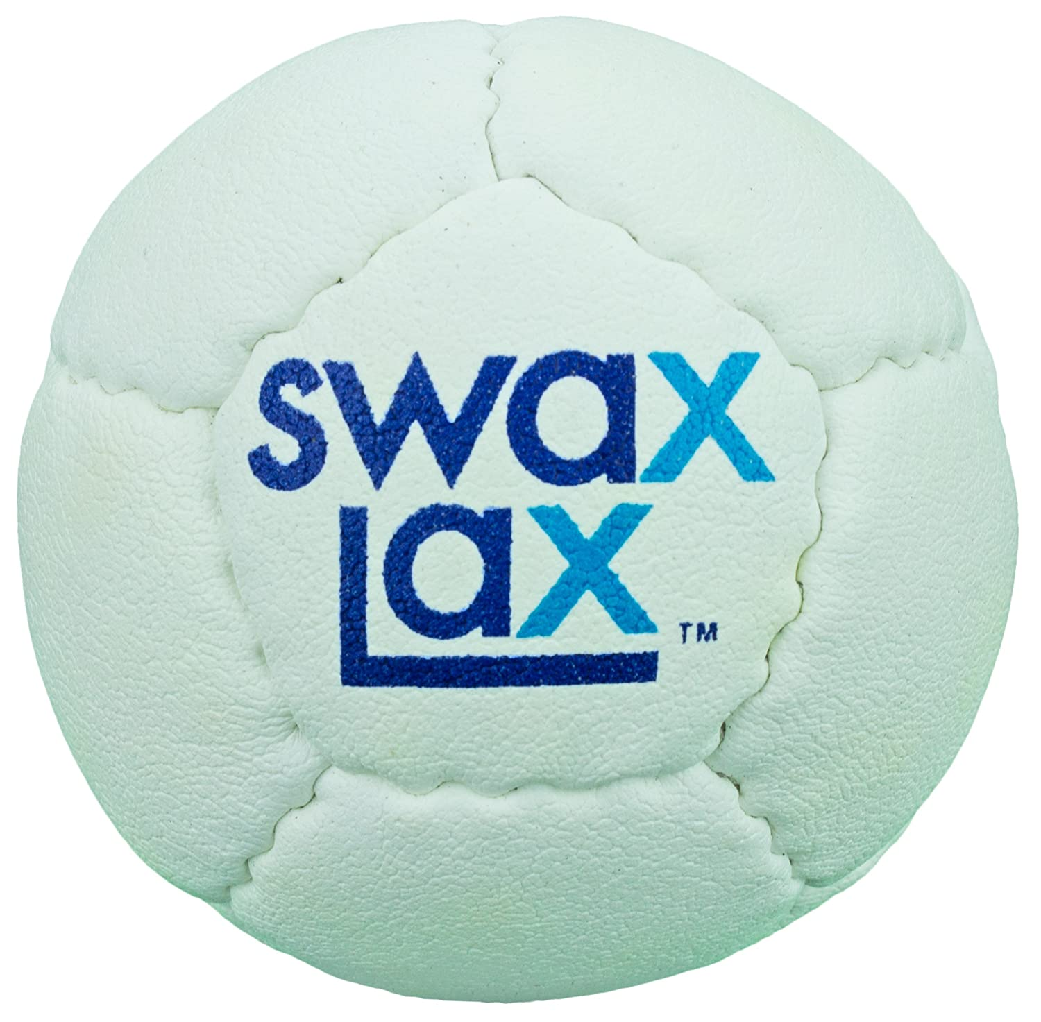 Same Size and Weight as Regulation Lacrosse Ball but Soft SWAX LAX Lacrosse Training Ball Less Bounce Practice Ball No Rebounds