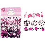 Sweet Safari Girl Foil Paper Confetti Value Pack (3 types)