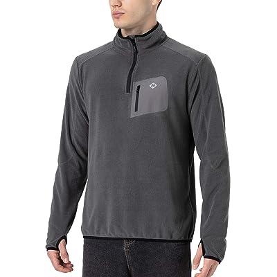 Naviskin Men's 1/4 Zip Thermal Long Sleeve Running Shirt Thumbholes Pullover Outdoor at Men's Clothing store