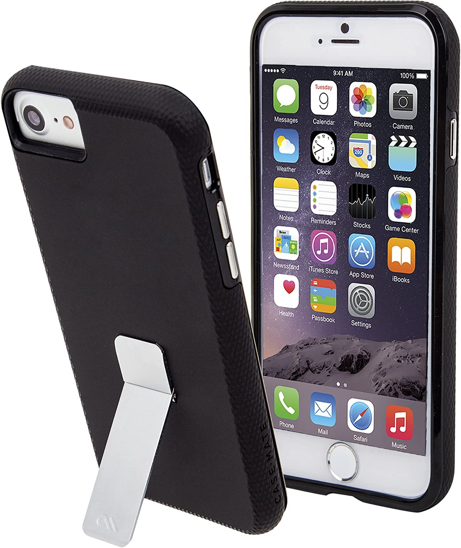 Case Mate Tough Stand Case iPhone 7/6s/6 Black, CM034732X (Black)