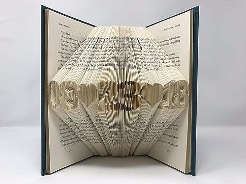 NiCe Folded Book Art