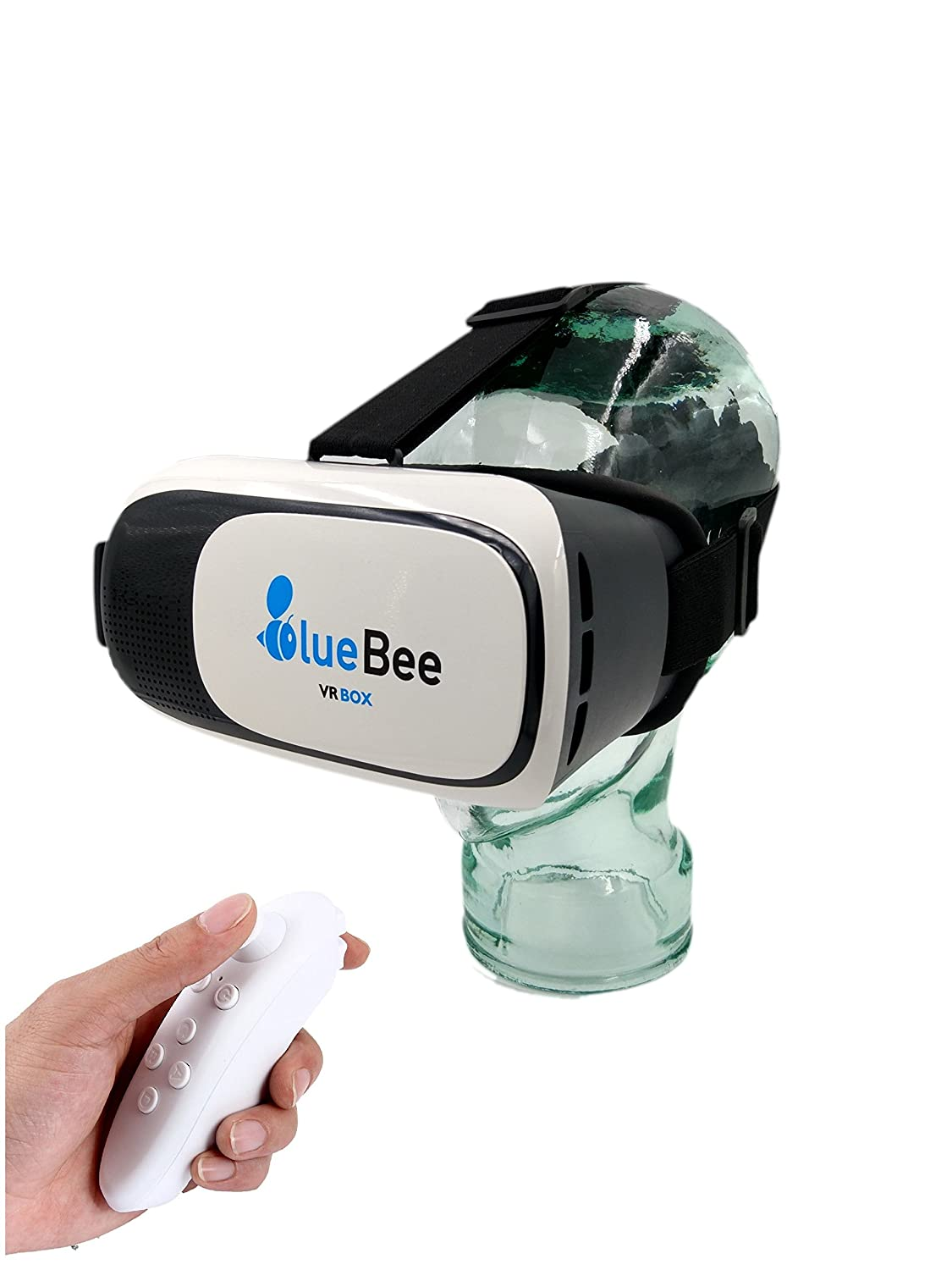 BlueBee Gafas VR  Mando a distancia Realidad Virtual Genuine D Google