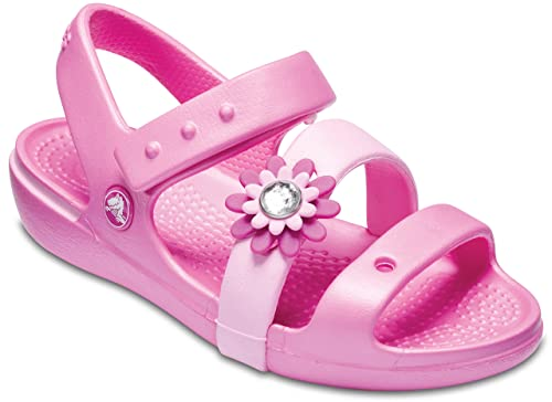 5706e9abc Crocs Girls Keeley Petal Charm Sandal PS Party Pink  Buy Online at Low  Prices in India - Amazon.in