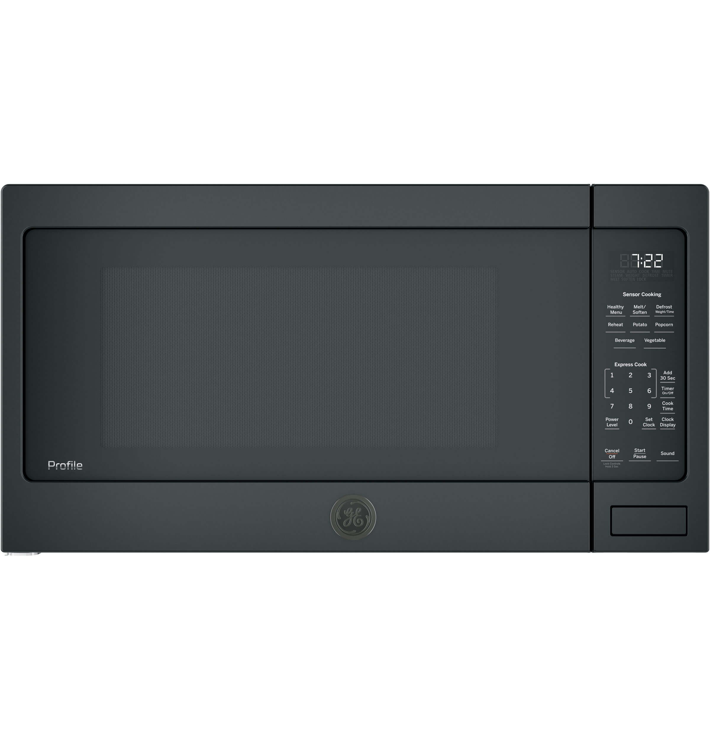 GE PES7227DLBB Microwave Oven by GE