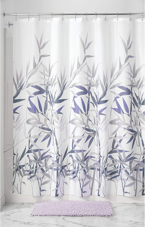 Grigio Tessuto 180x0.2x180 cm InterDesign Anzu Tenda Doccia