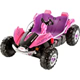 Fisher-Price Power Wheels Dune Racer, Pink & Purple
