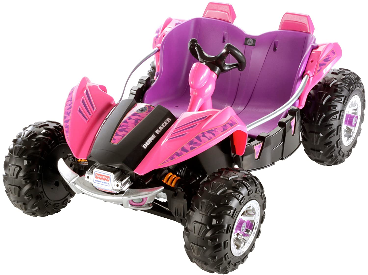 amazoncom fisher price power wheels pink and purple dune racer toys games