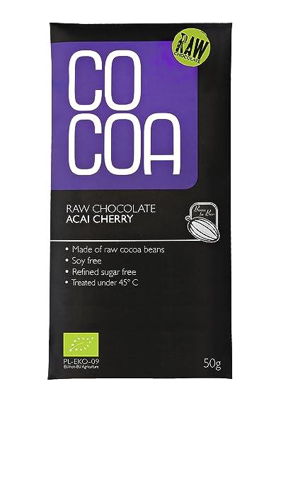 Cocoa – Barra Chocolate negro Bio Açai cereza