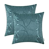 Deals on 2-Pack CaliTime Throw Pillow Covers Cases for Couch Sofa