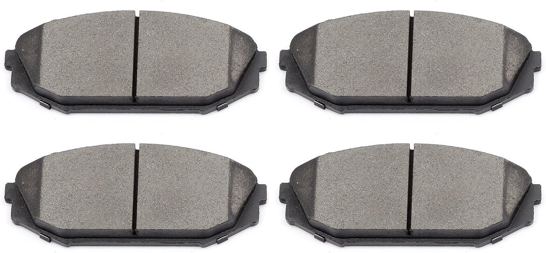 Ceramic Pads for 1999-2002 2003 2004 Odyssey 2001 2002 MDX Front Brake Rotors