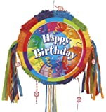 Brilliant Birthday Pinata, Pull String