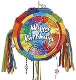 "Brilliant Birthday 18"" Pull-String Pinata ブリリアント誕生日18 ""プルストリングピニャータ"