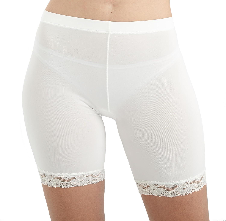 ANNY Women's Under Skirt Lace Slip Shorts Shorts-617-parent