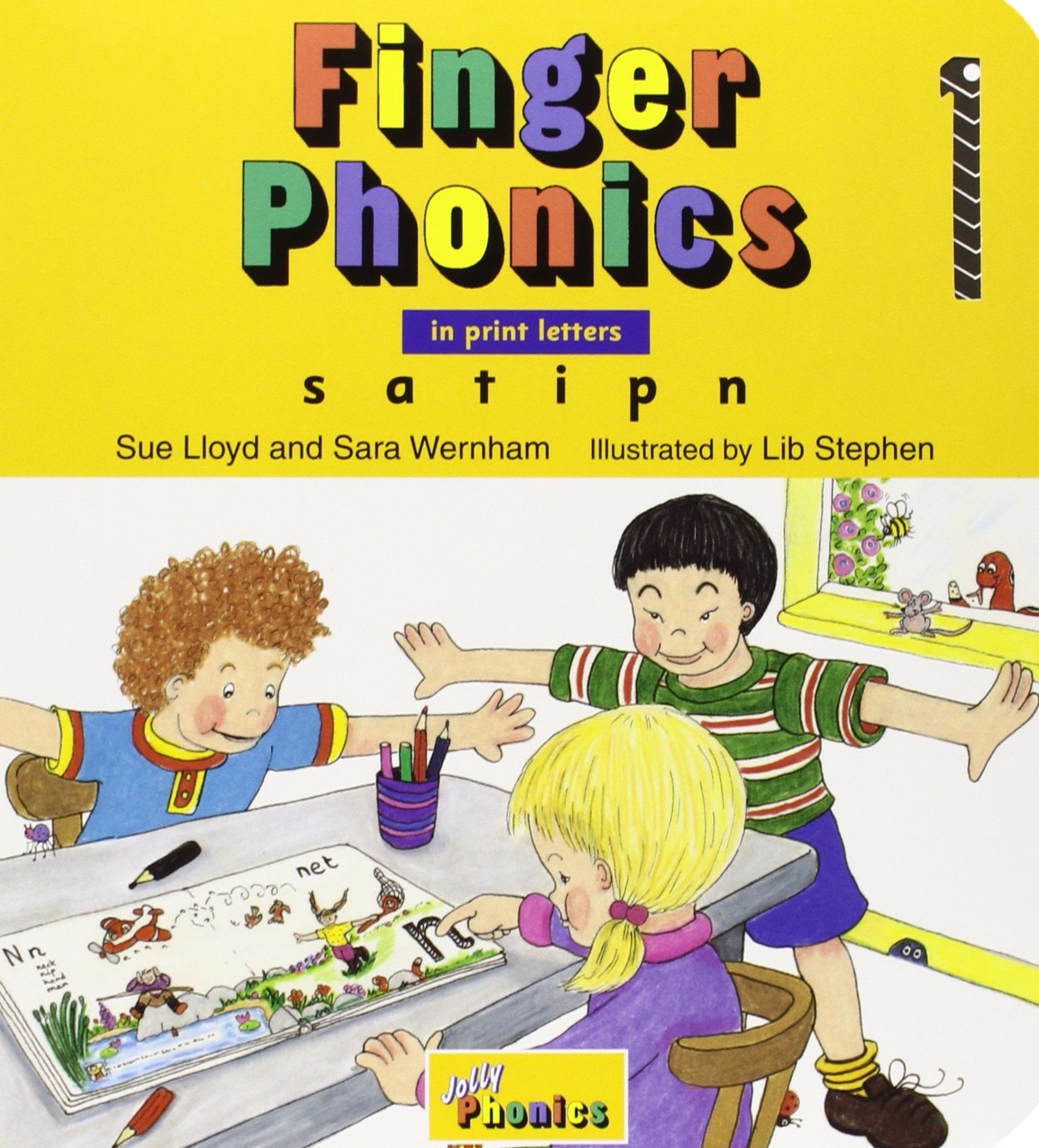 Workbooks jolly phonics workbook 1 free download : Finger Phonics, Books 1-7: In Print Letters: Sue Lloyd ...