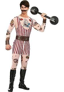 Bayi Co. Mens Vintage Strongman Costume Medium