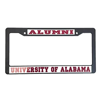Amazon.com: University of Alabama License Plate Frame/Tag For Front ...