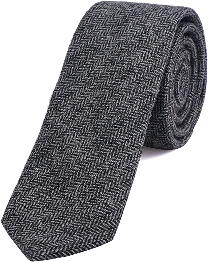 1920s Men's Fashion UK | Peaky Blinders Clothing DonDon Narrow Mens Cotton Tie 2.36 inch 6 cm £14.99 AT vintagedancer.com