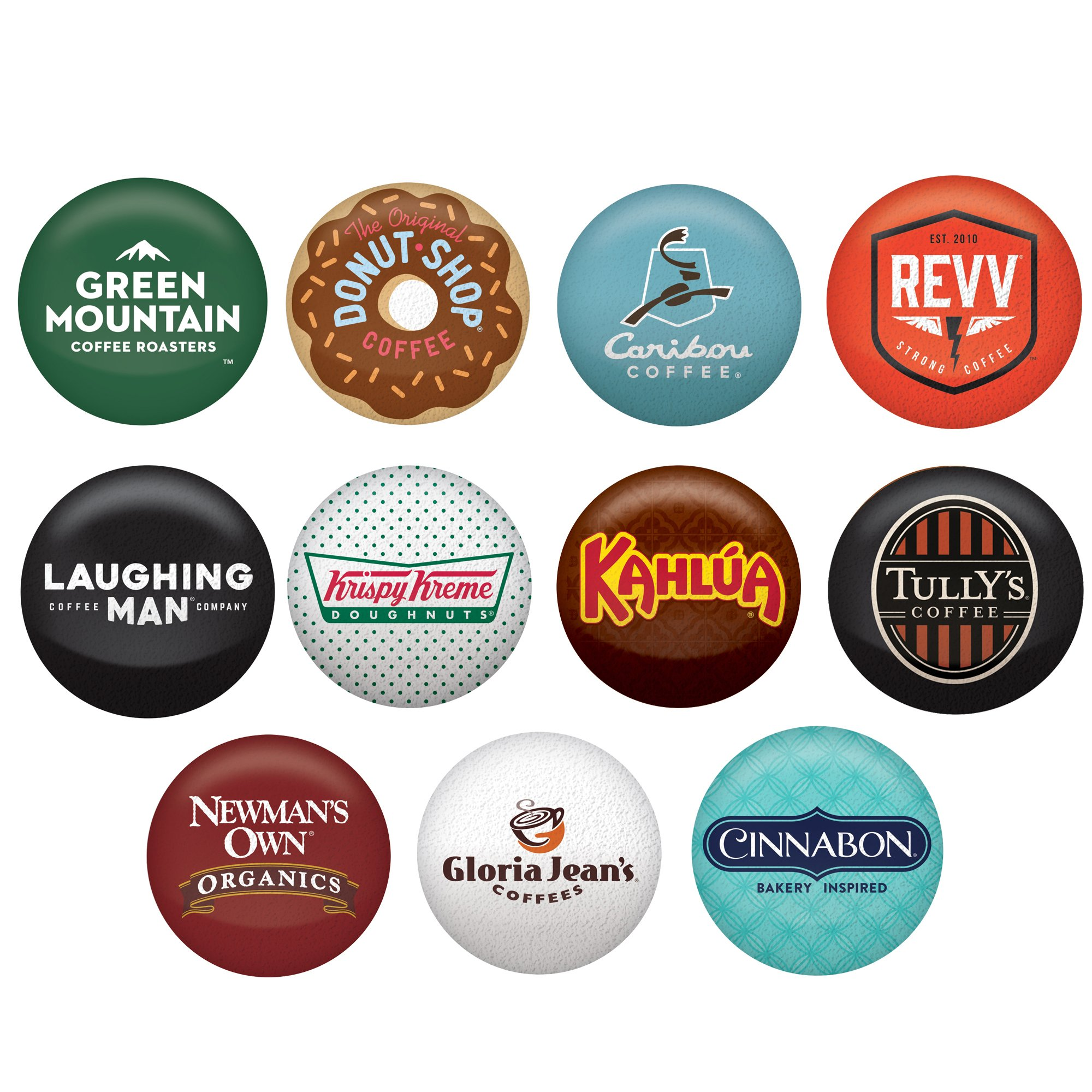 Keurig Coffee Lovers' Collection Sampler Pack, Single Serve K-Cup Pods, Compatible with all Keurig 1.0/Classic, 2.0 and K-Café Coffee Makers, Variety Pack, 40 Count by Variety Packs (Image #2)