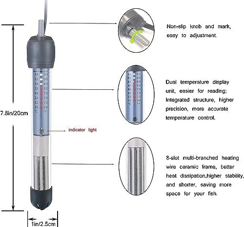 HITOP Adjustable Aquarium Heater
