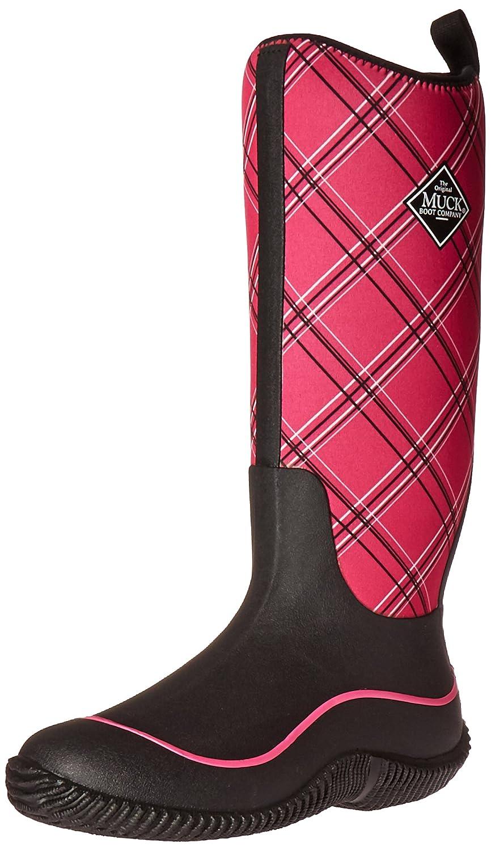 MuckBoots Women's Hale Plaid Boot B01IQ6XSSA 9 B(M) US|Black/Pink Plaid