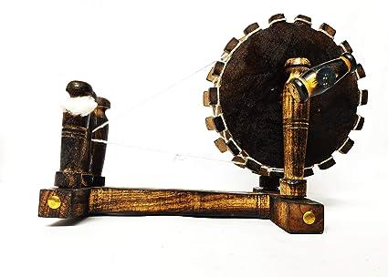 Buy Aggarwal Art Wooden Spinning Wheel/Gandhi Charkha Online