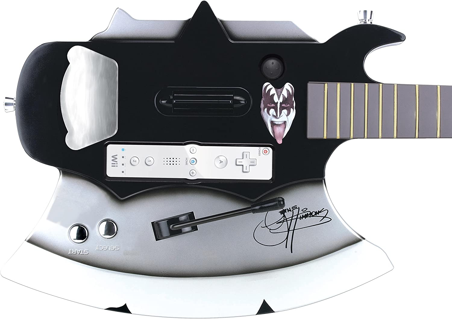 Amazon.com: Gene Simmons Axe Guitar - Playstation 2/Playstation 3 ...