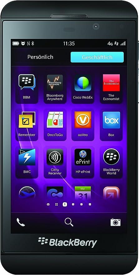 Blackberry Z10 Smartphone Schwarz Elektronik