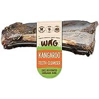 WAG Kangaroo Teeth Cleanser Bone 4 Pack, Natural Australian Made Long Lasting Dog Treat Chew, Perfect Teeth Treat