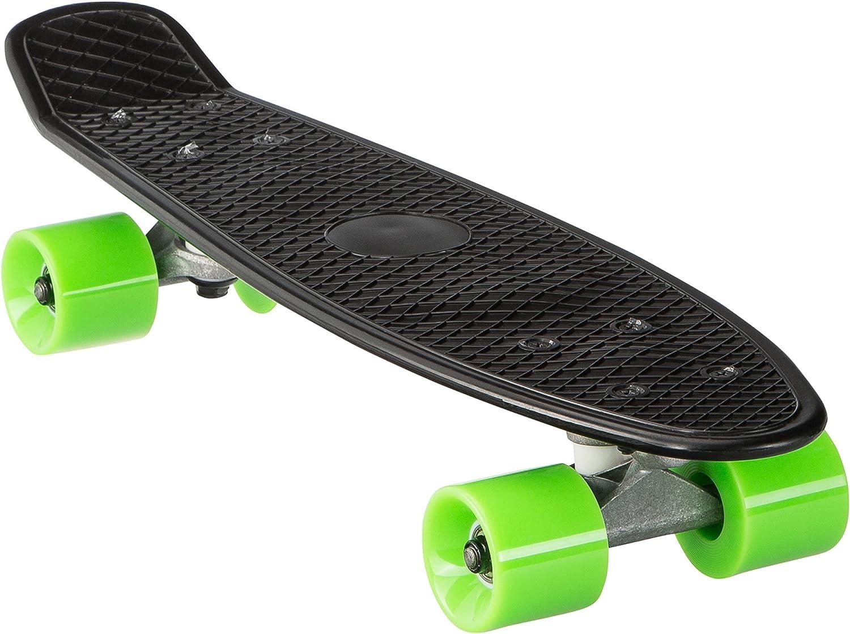 Kinder Retro Skateboard Tasche Mini Cruiser Skateboard Retro Komplettboard Kickboard Tragetasche Skateboard M/ädchen Rollen Board Carry Tasche (Nein Board)