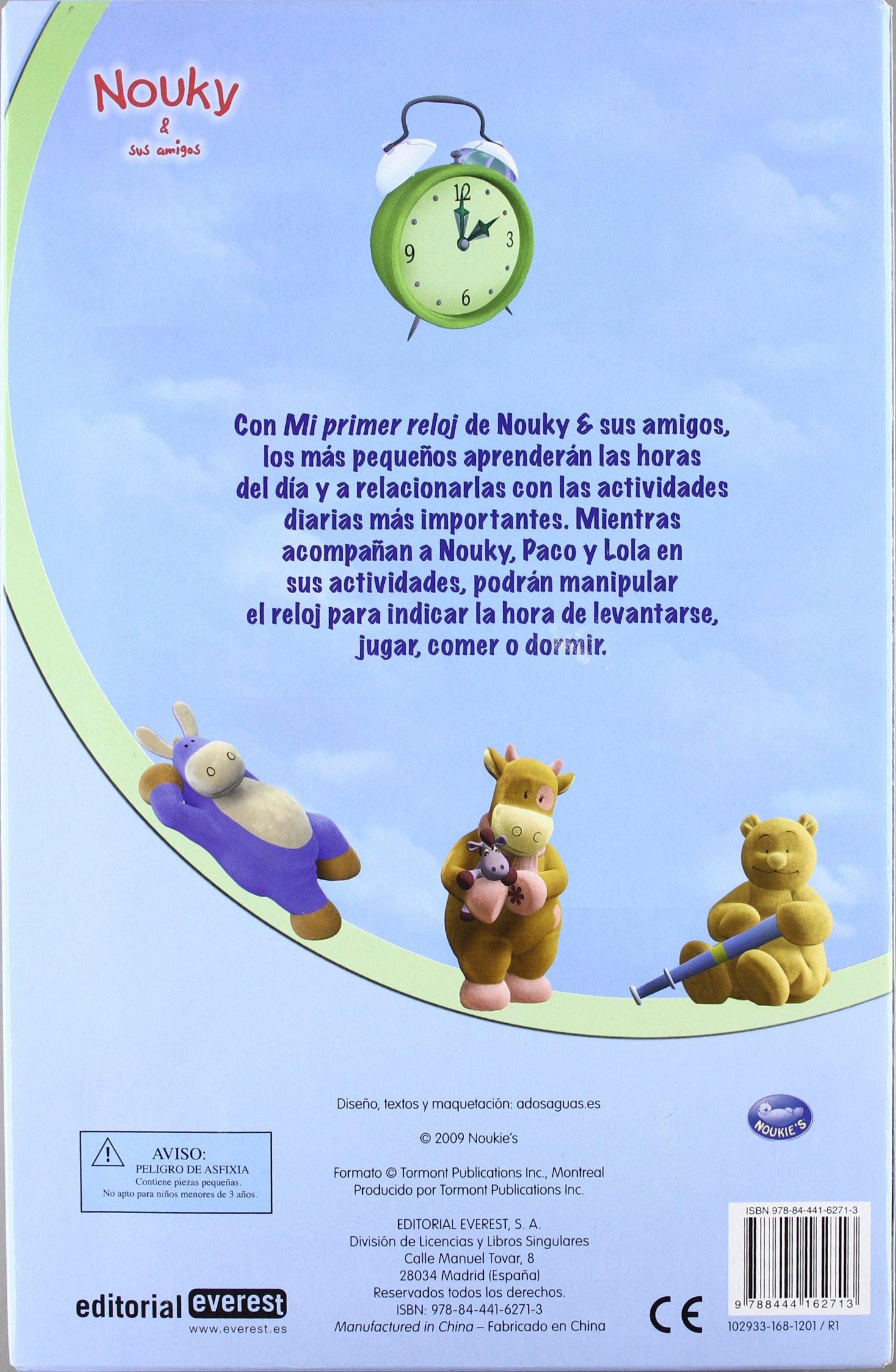 Mi Primer Reloj-nouky Y Sus Amigos: Varios: 9788444162713: Amazon.com: Books